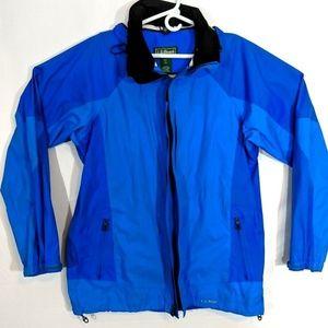 LL Bean Mens Windbreaker Shell Jacket Size Large